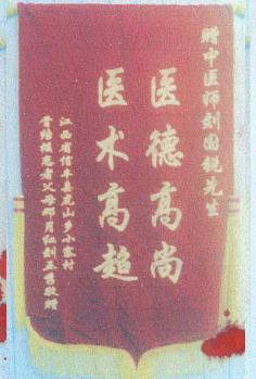 刘国锐骨病诊所锦旗  (五)